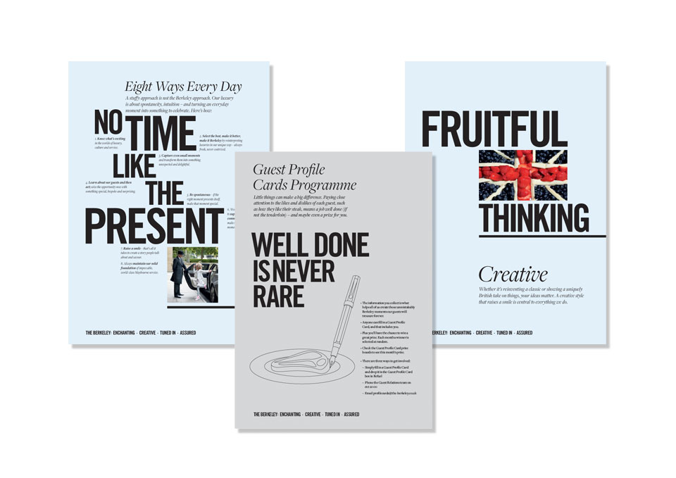 The Berkeley branding case study image