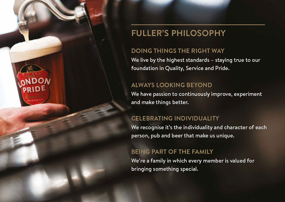 Fullers Brand Image