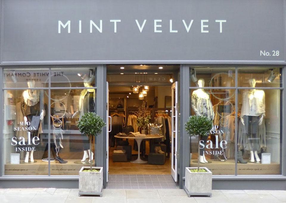 Mint Velvet Brand Image
